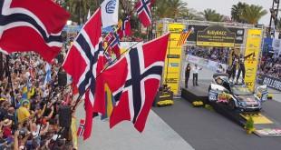 Rally Spania endte med norske jubel. Andreas Mikkelsen tok sin første WRC-seier.