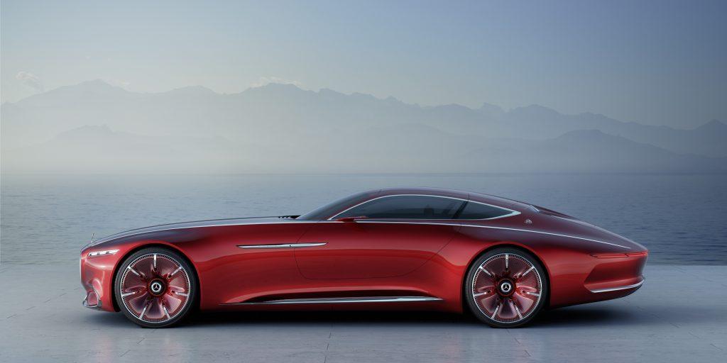 Vision Mercedes-Maybach 6 er en konseptbil.