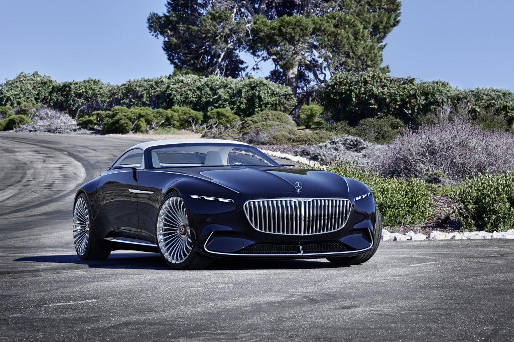 Mercedes har dresset opp fronten.