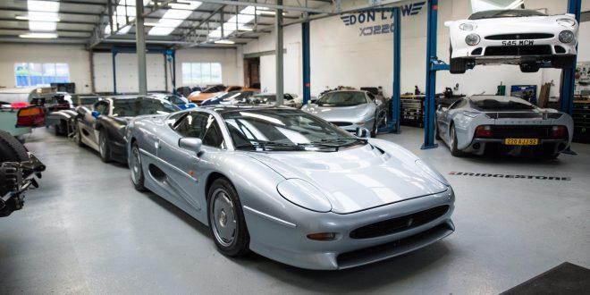 XJ220 er fortsatt den modellen hos Jaguar som har høyest toppfart.