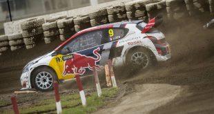 Sebastien Loeb og det svenske Peugeot-teamet får ikke skikkelig fart på bilen i WRX.