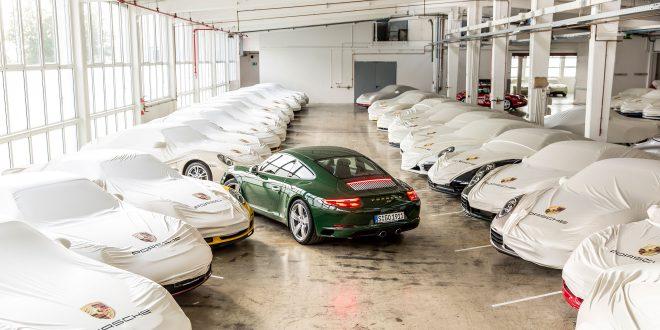 Dette er Porsche 911 nummer én million. Men den skulle egentlig hete 901.