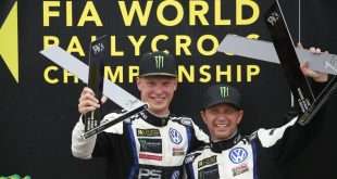Joohan Kristofferson og Petter Solberg herjer i World RX.