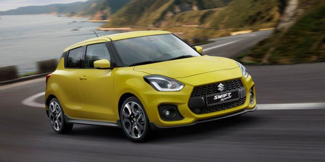 Suzuki lanserer tredje generasjon av Swift Sport. (Foto: Suzuki)