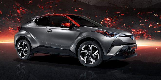 Toyota har vist fram hybridvarianten Toyota C-HR Hy-Power. (Foto: Toyota)