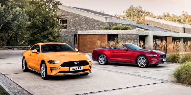 Ford har tilpasset Mustang til det europeiske markedet. (Alle foto: Ford)