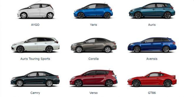 Toyota vil kutte ned på antall modeller de produserer. (Foto: Toyota)