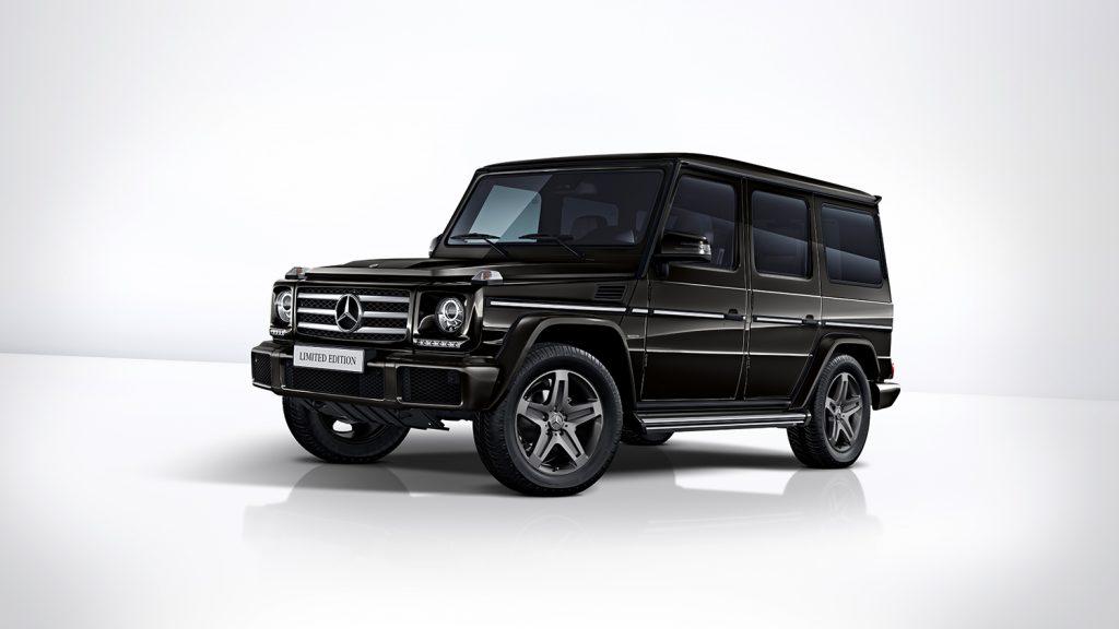 Svart metallic er fargen til G 350 d.