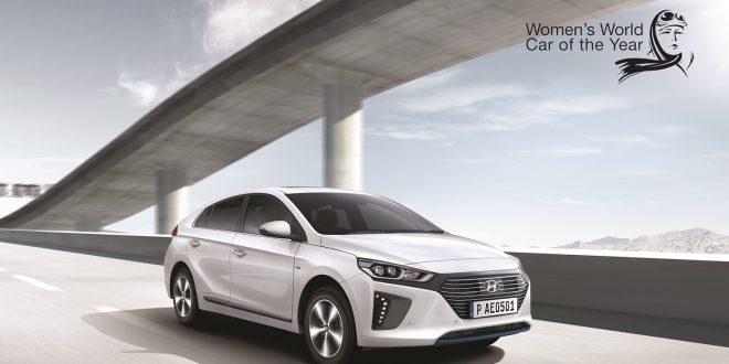Hyundai Ioniq har draget på damene. (Foto: Hyundai)