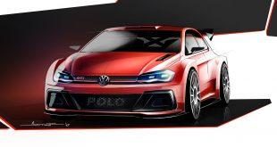 Slik ser den ut på tegnebrettet, Volkswagen Polo GTI R5. (Foto: VW)