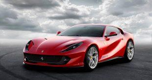 Ferrari har selvtillit nok til rett og slett kalle en bil superrask, 812 Superfast. (Alle foto: Ferrari)