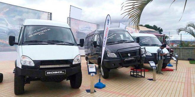Volkswagen snuser på russiske GAZ, som blant annet lager varebiler. (Foto: GAZ)