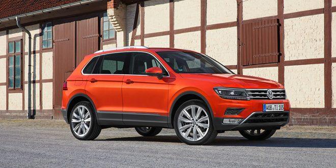 Volkswagen Tigaun er en vinner, spesielt i Kina. Der ble det solgt 33.000 slike i november. (Foto: VW)