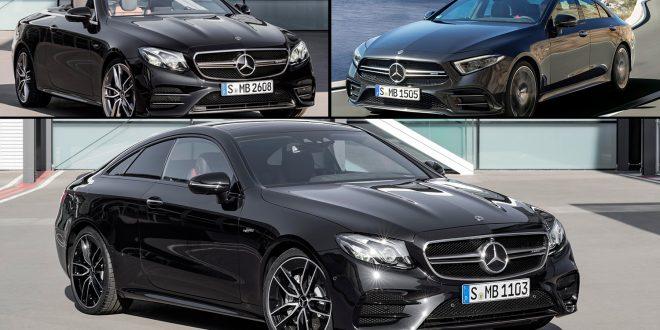 Her er tre ønsker på en gang. Dem nye 53-familien til AMG. (Alle foto: Mercedes)