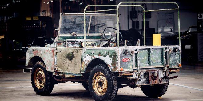 Dette er en av tre opprinnelige Land Rover fra 1948. (Alle foto: Land Rover)