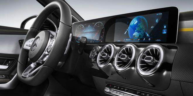 MBUX er ifølge Mercedes vakker og intelligent. (Foto: Mercedes)