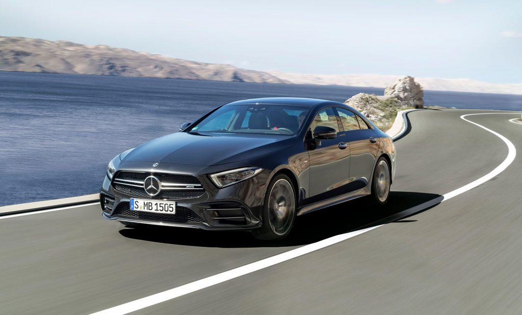 Mercedes-Benz AMG 53 CLS.