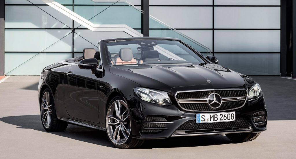 Mercedes-Benz E 53 Cabriolet.