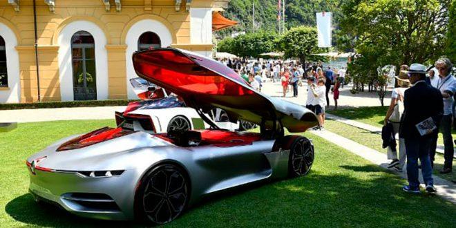 Alliansen Renault, Nissan og Mitsubishi satser milliarder på framtidens biler. Her en futurisk Renault Trezor. (Foto: Renault)