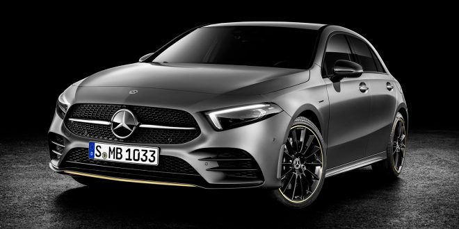 Mercedes kommer med fjerde generasjonen av A-klasse. (Alle foto: Mercedes)