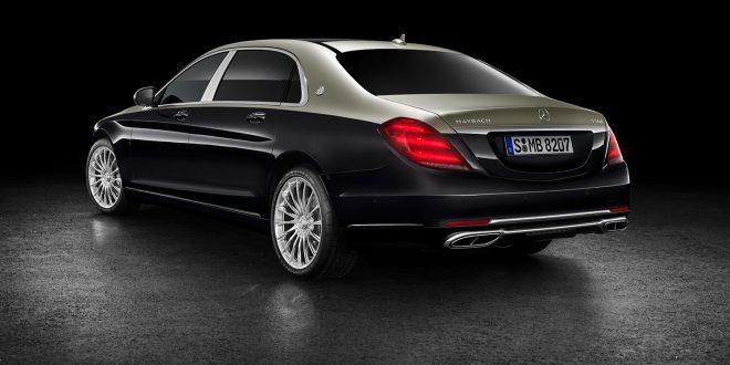 Mercedes-Maybach kommer med oppgraderte modeller basert på S-klassen. (alle foto: Mercedes)