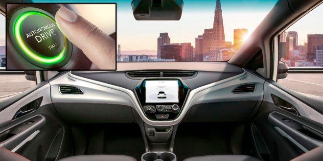 Hva betyr nivåene for de selvkjørende bilene. (GM/Contenital)