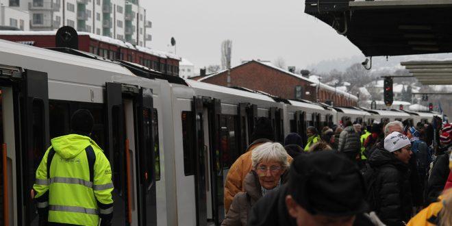 Å ta bane blir stadig mer populært i Norge. (Arkivfoto: Sporveien)