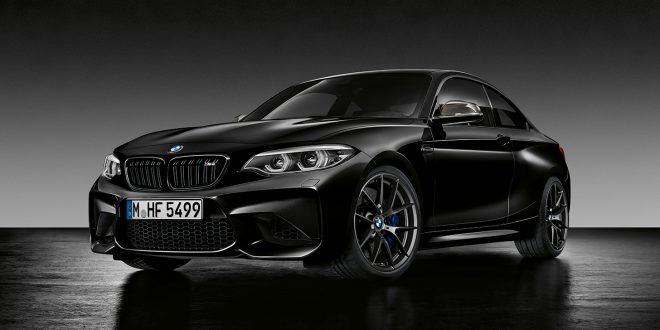Den ser lekker ut på bildet, BMW M2 Black Shadow. (Alle foto: BMW)