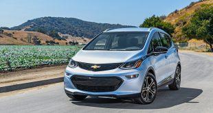 Chevrolet Bolt er søstermodellen til Opel Ampera-e, elbilen som stoppet helt opp. (Foto: Chevrolet)