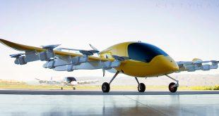 Cora er intet mindre enn en flyvende taxi. Og den testes nå ut på New Zealand. (Foto: Kitty Hawk)
