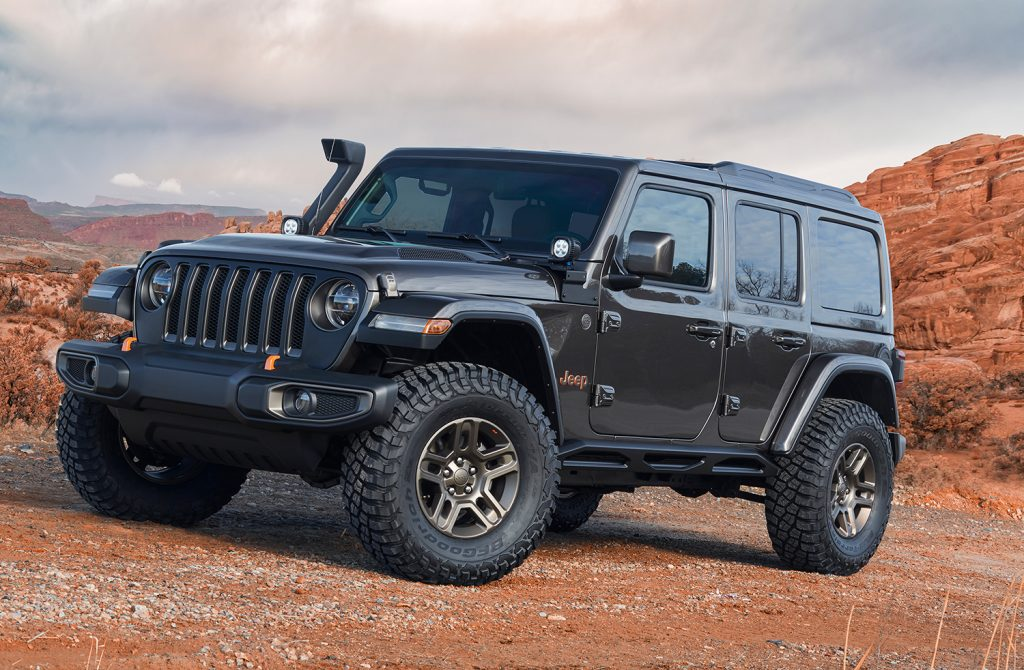 Jeep J-Wagon Concept.