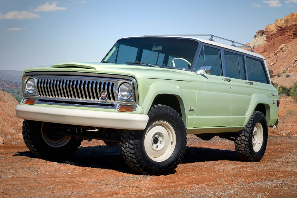 Jeep Wagoneer Roadtrip Concept.
