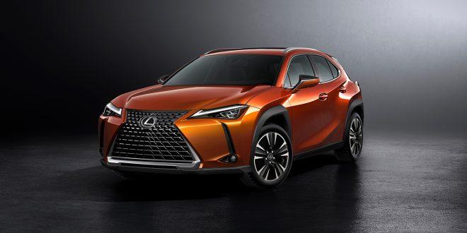 Lexus kommer med en ny modellserie, UX. (Alle foto: Lexus)