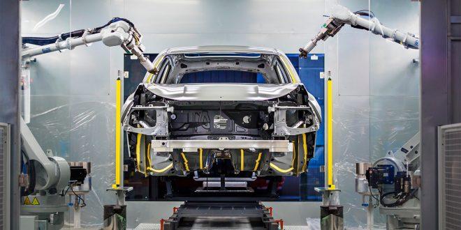 Volvos fabrikk i Gsent skal produsere biler for Lynk & Co. (Alle foto: Lynk)