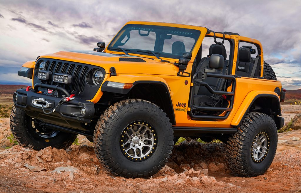 Nacho Jeep Concept.