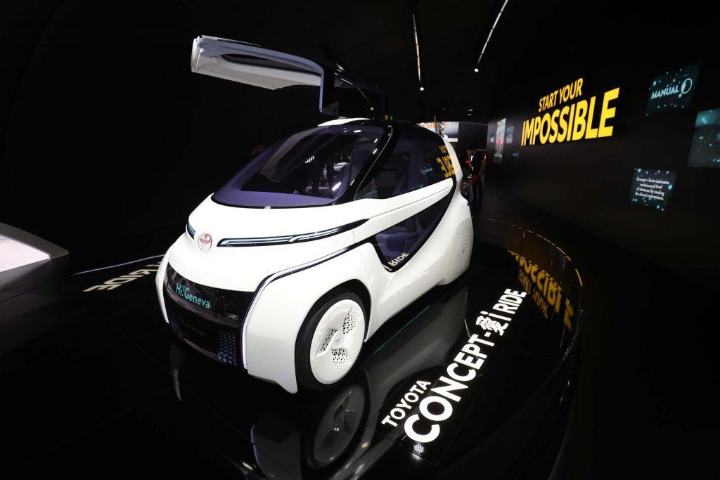 Toyota Concept iWalk