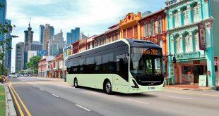 Volvo har nå passert over 4.000 elektrifiserte busser. (Foto: Volvo)
