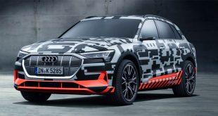 Audi e-tromn vil starte en plass litt over 600.000 kroner. (Foto: Audi)