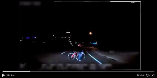 Den føerste dødsulykken med en selvkjørende bil skjedde sist søndag. (Foto: Politiet)