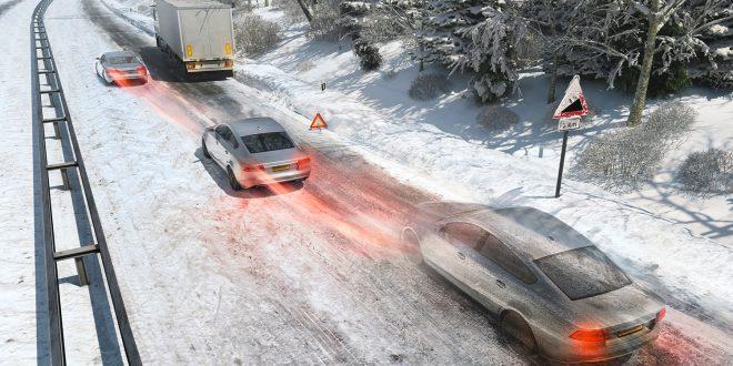 Neste generasjon ABS-bremser skal fungere enda bedre på snø og is. (Foto: Continental)