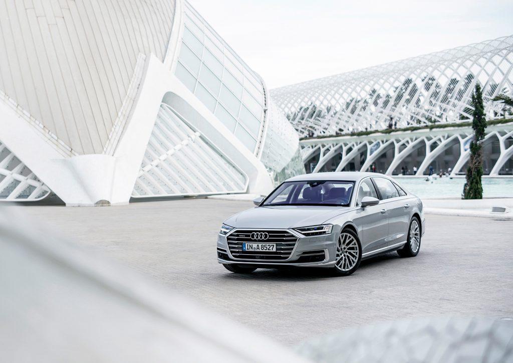 Årets luksusbil, Audi A8. (Foto: Audi)