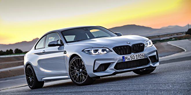 BMW kommer med arvtakeren til M2, M2 Competition. (Alle foto: BMW)