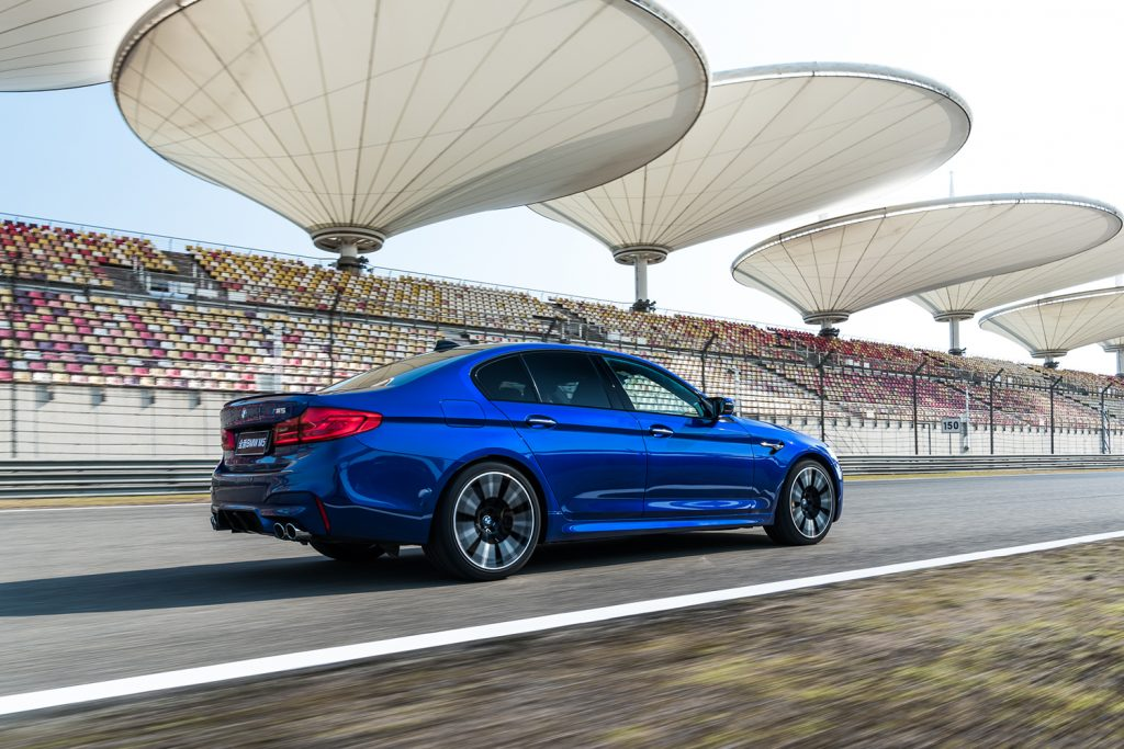 Årets ytelsesbil, BMW M5. (Foto: BMW)
