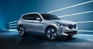 Slik ser BMWs nye helelektriske SUV ut, BMW iX3. (Alle foto: BMW)