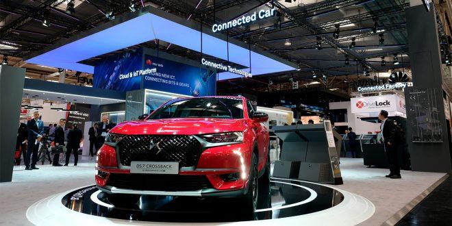 DS 7 Crossback blir den første bilen fra PSA med løsninger fra Huawei. (Foto: PSA)