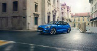 Ford har akkurat kommet med en ny generasjon av Focus, en av fire topp-50-biler som blir ny i år. (Foto: Ford)
