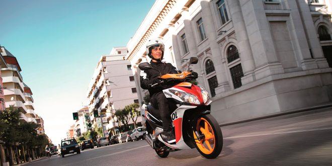 Det er mange som kjører på mopeder som er trimmet. (Illustrsjonsfoto: Honda)