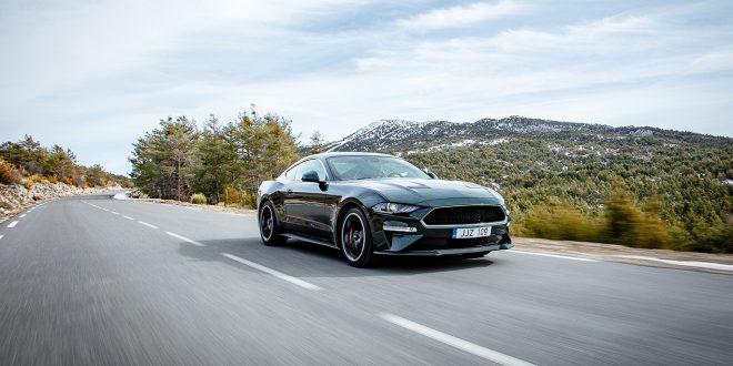Ford Mustang ble det mest solgte sportsbilen i 2017. (Foto: Ford)