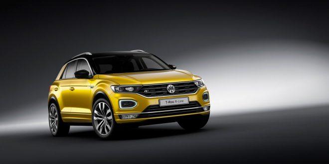 Slik ser R-Line til Volkswagen T-Roc ut. (Alle foto: VW)
