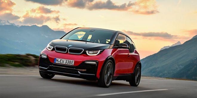 Elbilen vant en test mellom forskjellige transportsmidler. (Foto: BMW)